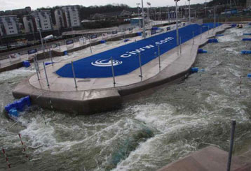 Canoe slalom Cardiff completed